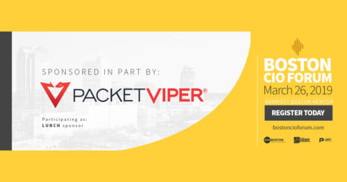 PacketViper sponsors Boston CIO Forum