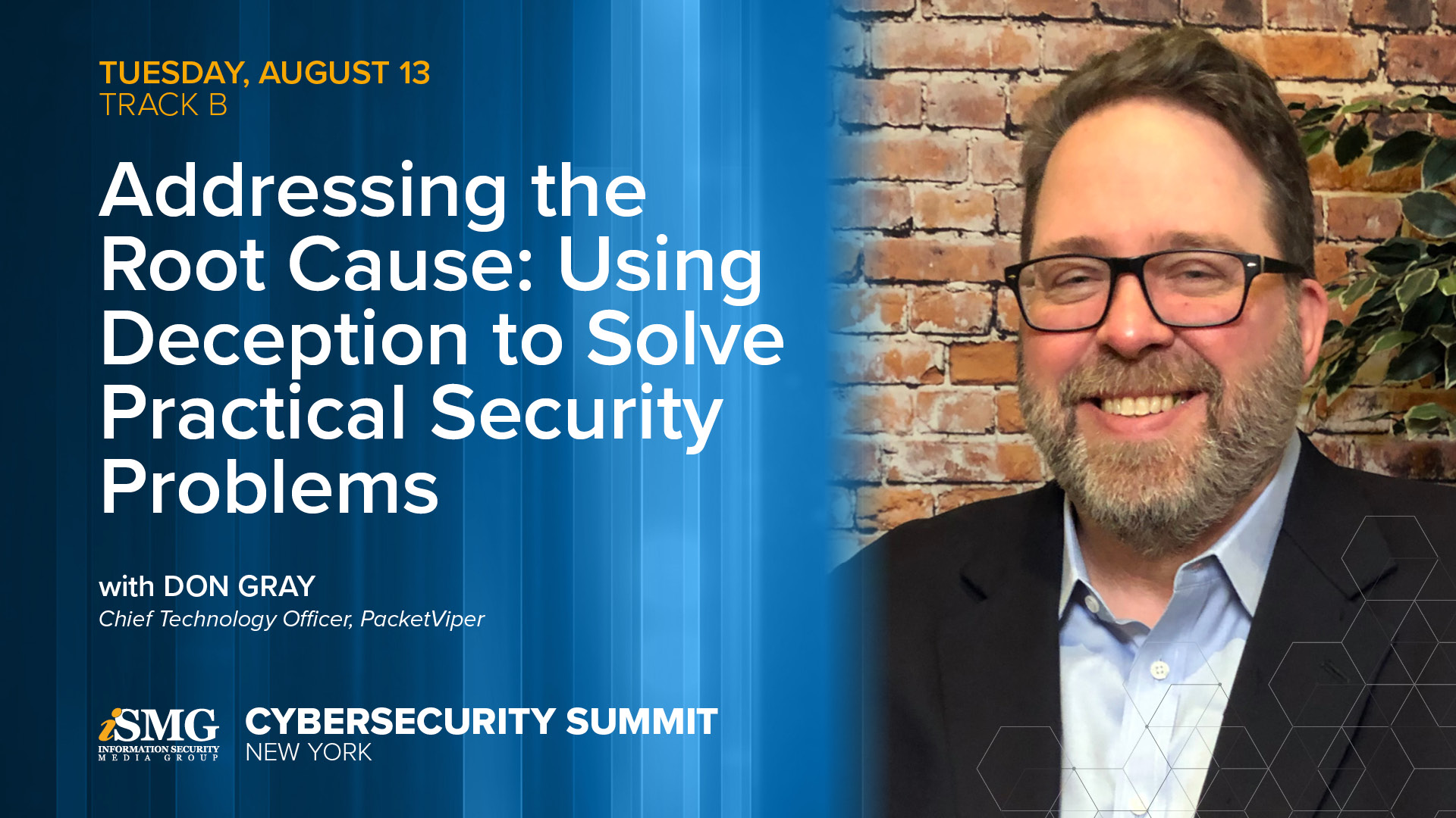 SecureSky Sponsoring ISMG Cybersecurity Summit